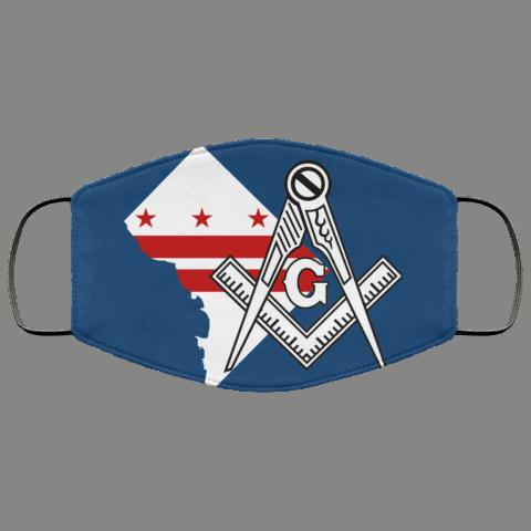 Washington D.C. Masonic Face Mask redirect 19