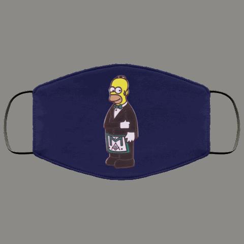 Simpsons Masonic Face Mask redirect 230