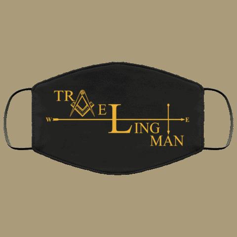 Traveling Man Freemason Masonic Face Mask redirect 265