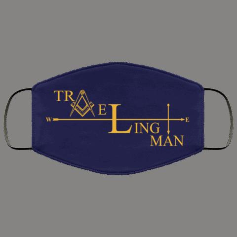 Traveling Man Freemason Masonic Face Mask redirect 266