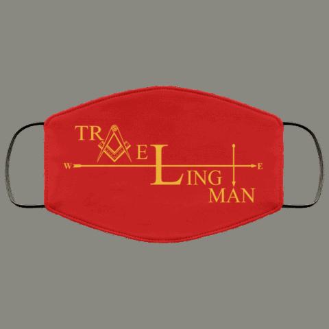 Traveling Man Freemason Masonic Face Mask redirect 269