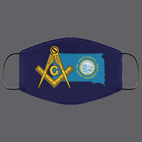 South Dakota Masonic Face Mask redirect 61