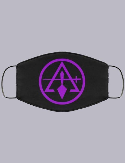 Royal Arch And Select Master Masonic Face Mask royal master