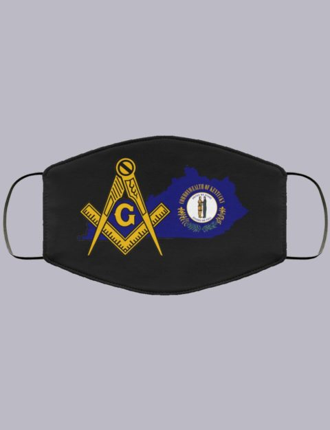 Kentucky Masonic Face Mask state992