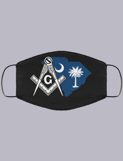South Carolina Masonic Face Mask state99995