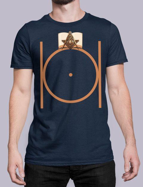 Masonic Freemason T-shirt Masonic Freemason navy shirt 22
