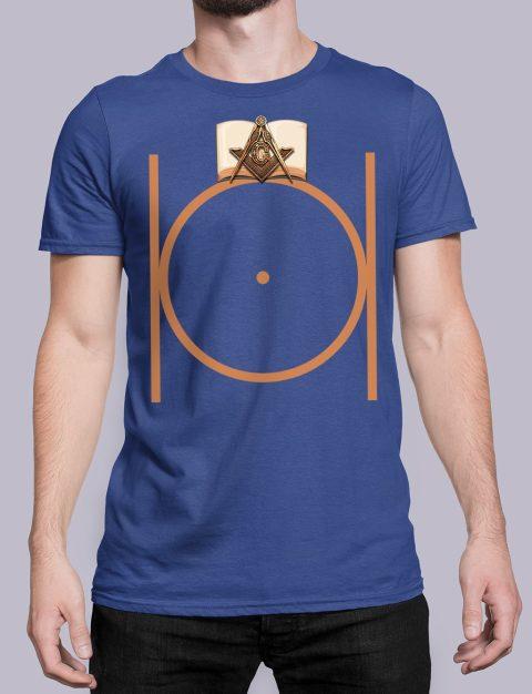 Masonic Freemason T-shirt Masonic Freemason royal shirt 22