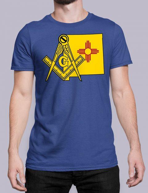 New Mexico Masonic Tee New Mexico royal shirt