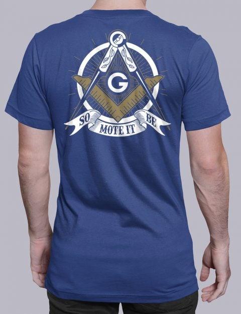 So Mote It Be Masonic T-Shirt So Mote It Be royal shirt back 10