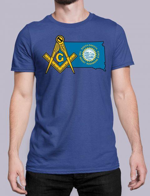 South Dakota Masonic Tee South Dakota royal shirt