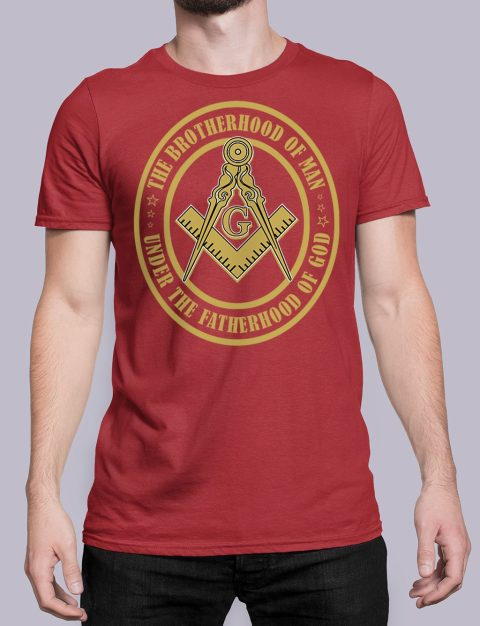 The Brothehood Of Man The Brothehood Of Man front red shirt 35