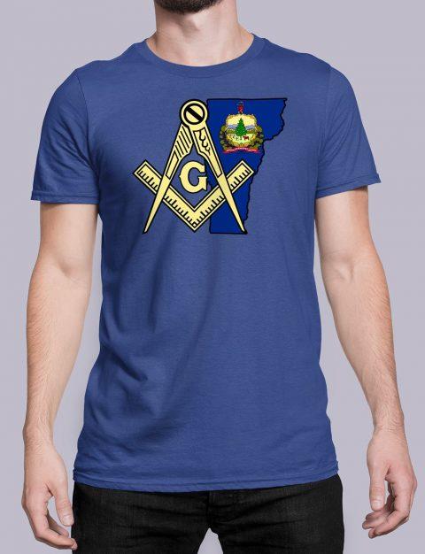 Vermont Masonic Tee Vermont royal shirt