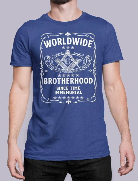Worldwide Brotherhood Masonic Tee-Shirt Worldwide Brotherhood Masonic royal shirt 43