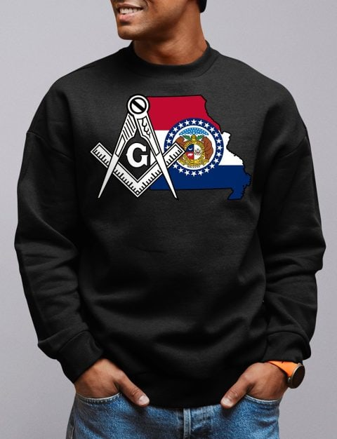 Missouri Masonic Sweatshirt missouri black sweatshirt