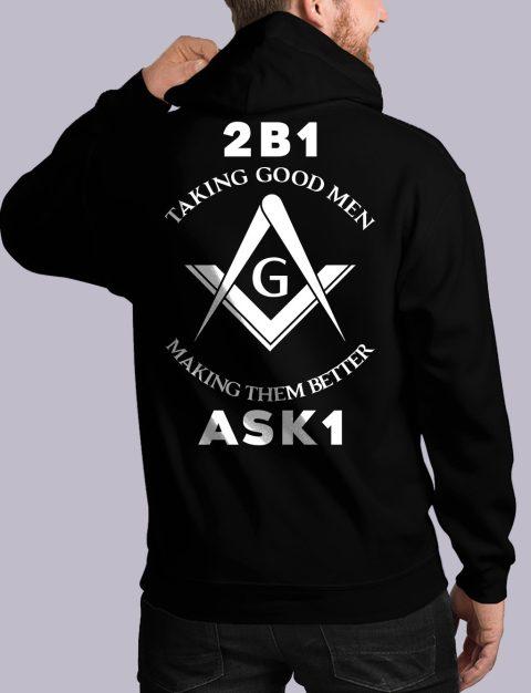 Taking Good Men Masonic Hoodie taking good men back black hoodie 1