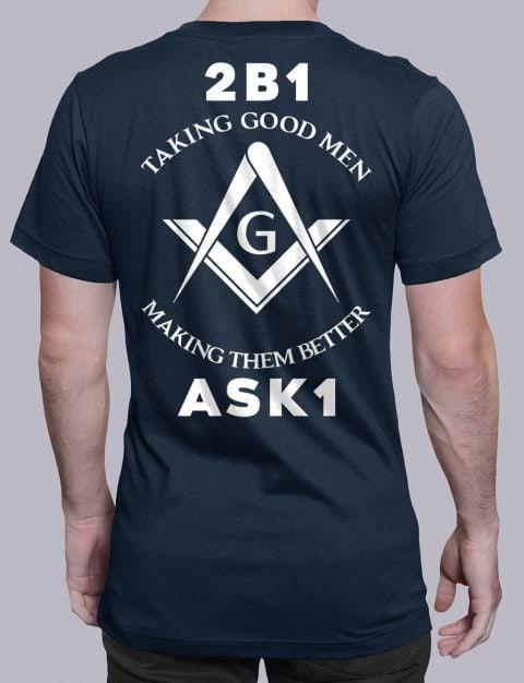 Taking Good Men T-Shirt taking good men navy shirt back 11