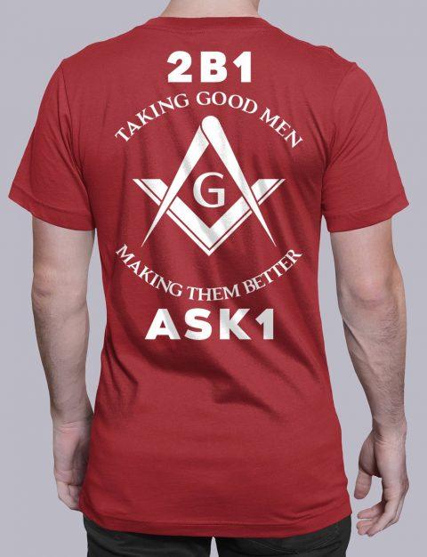 Taking Good Men T-Shirt taking good men red shirt back 11