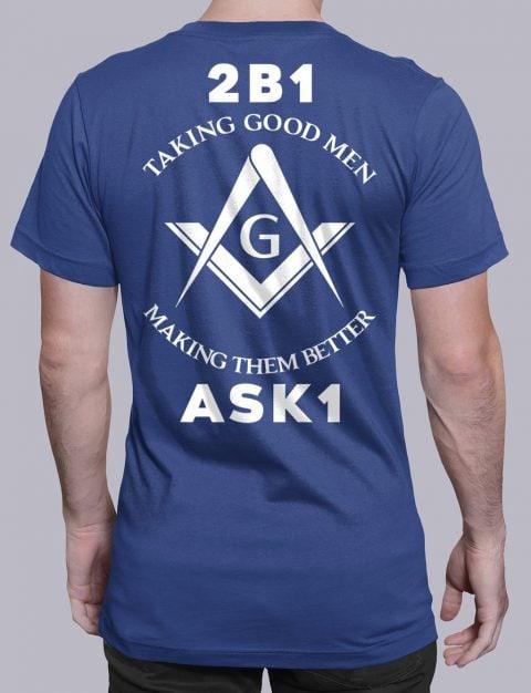 Taking Good Men T-Shirt taking good men royal shirt back 11