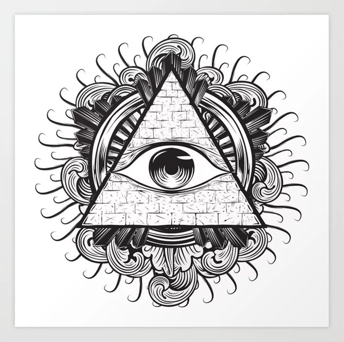 A Deeper Look at The All Seeing Eye The All Seeing Eye in Art