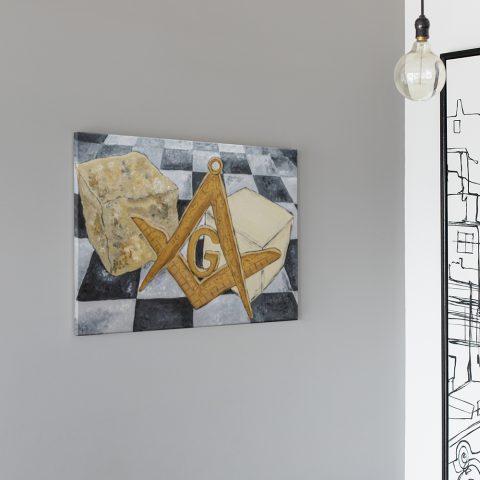 Ashlar Masonic Poster & Canvas Ashlar Masonic Canvas