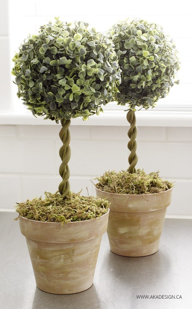 14 Amazing Diy Ideas Using Fake Plants From The Dollar Store Mindful Of The Home