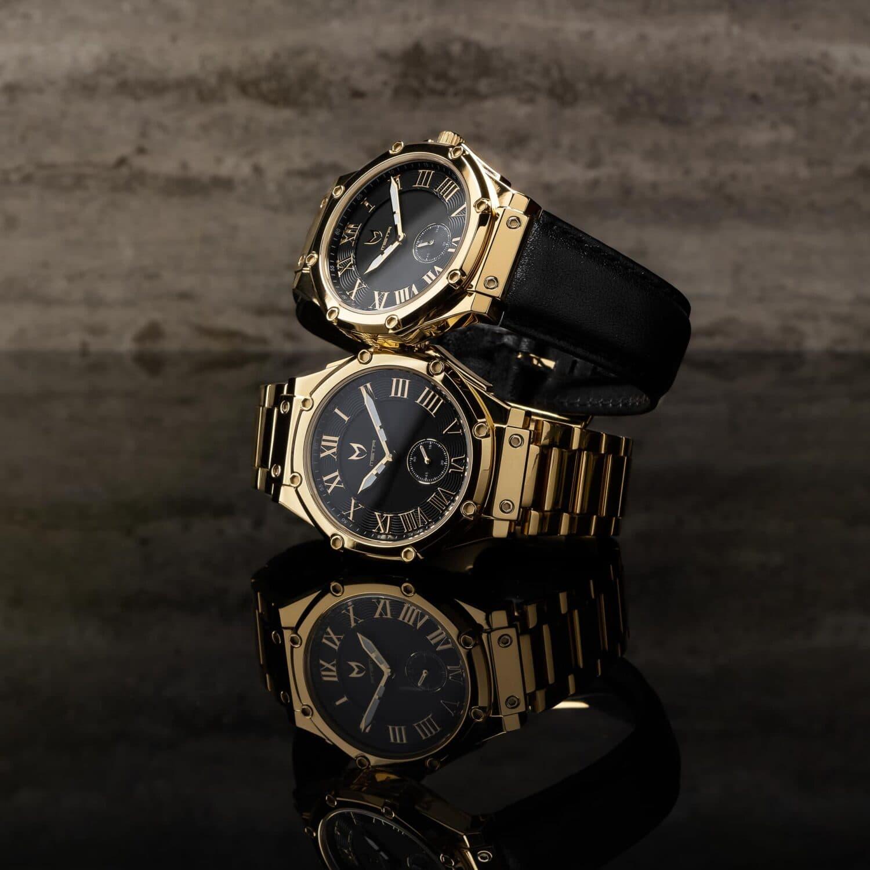 Gold & Schwarz