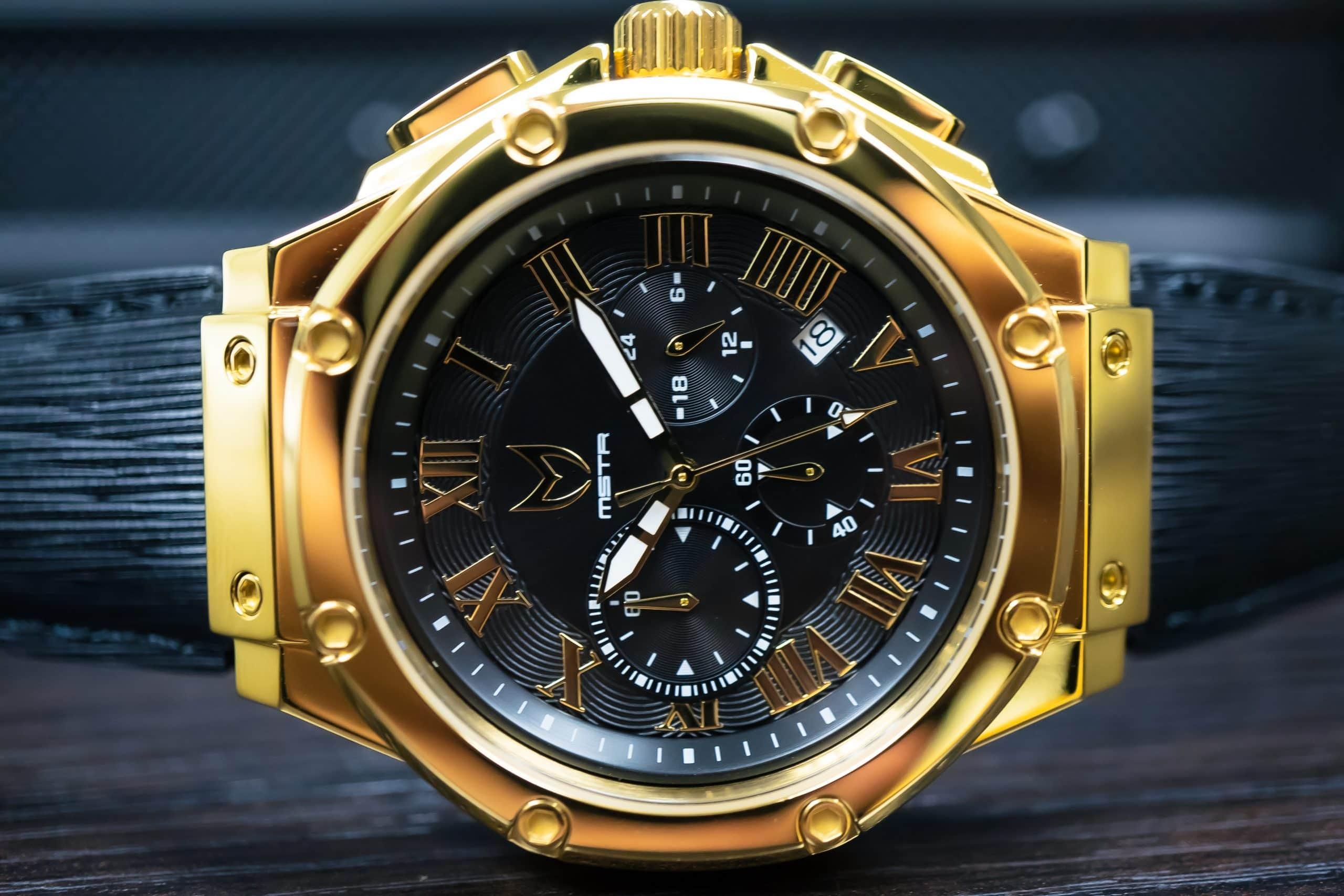 Polished Gold – Leder