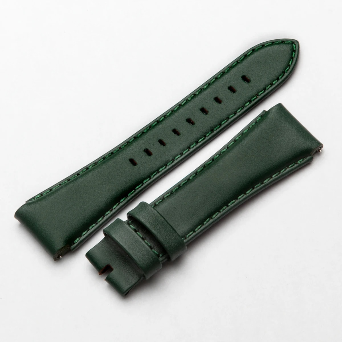 Natural – Green Leather