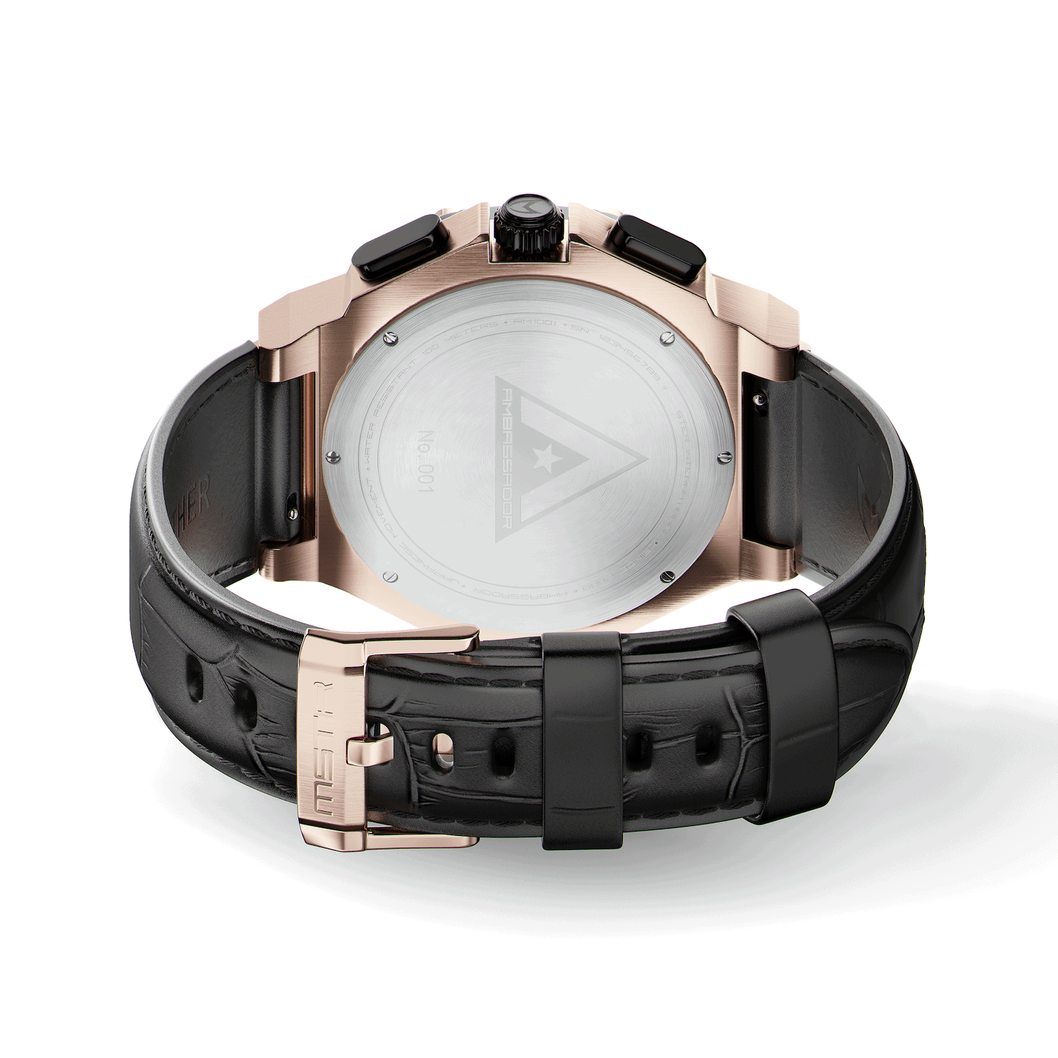 Rose Gold – Leather