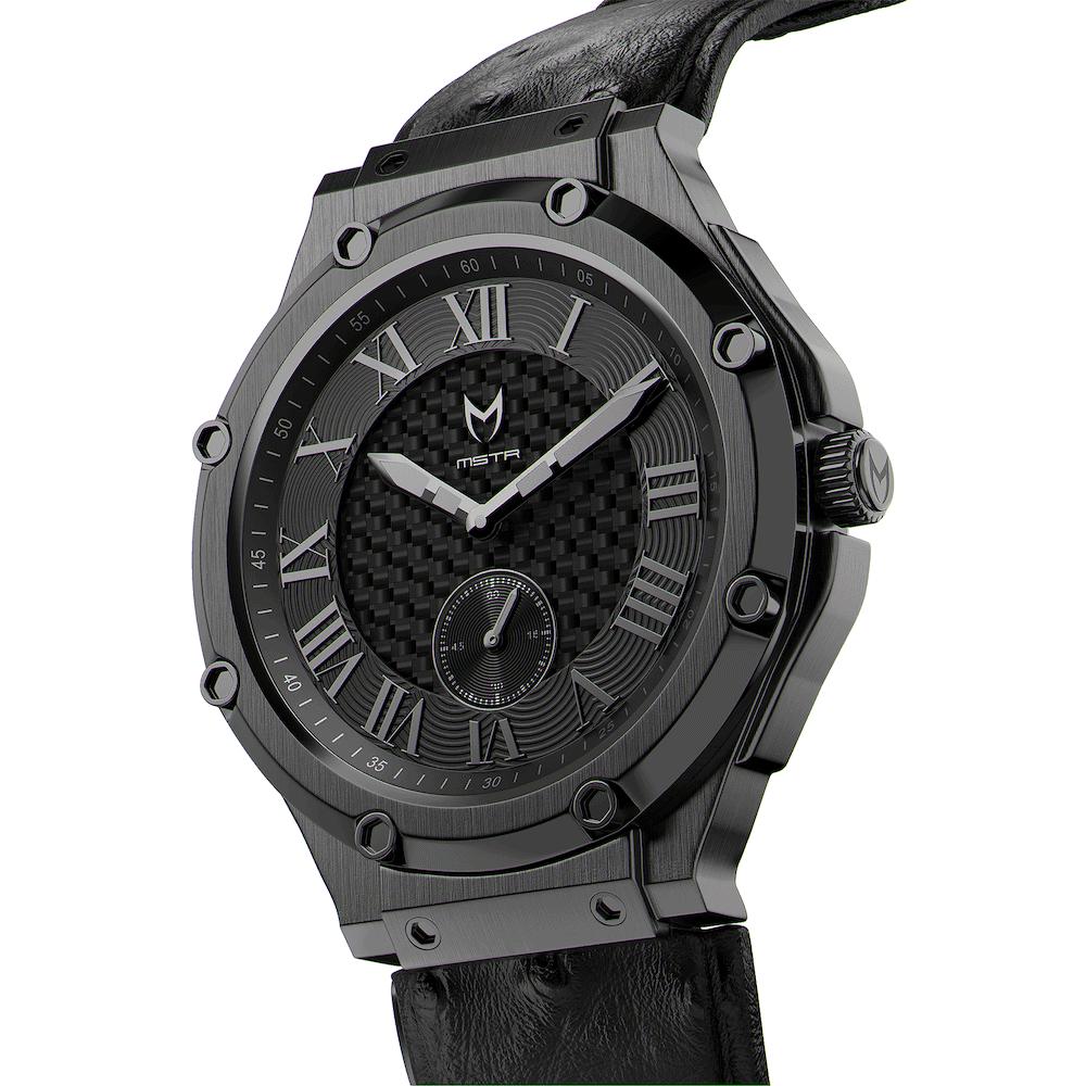 Carbon Black – Leather