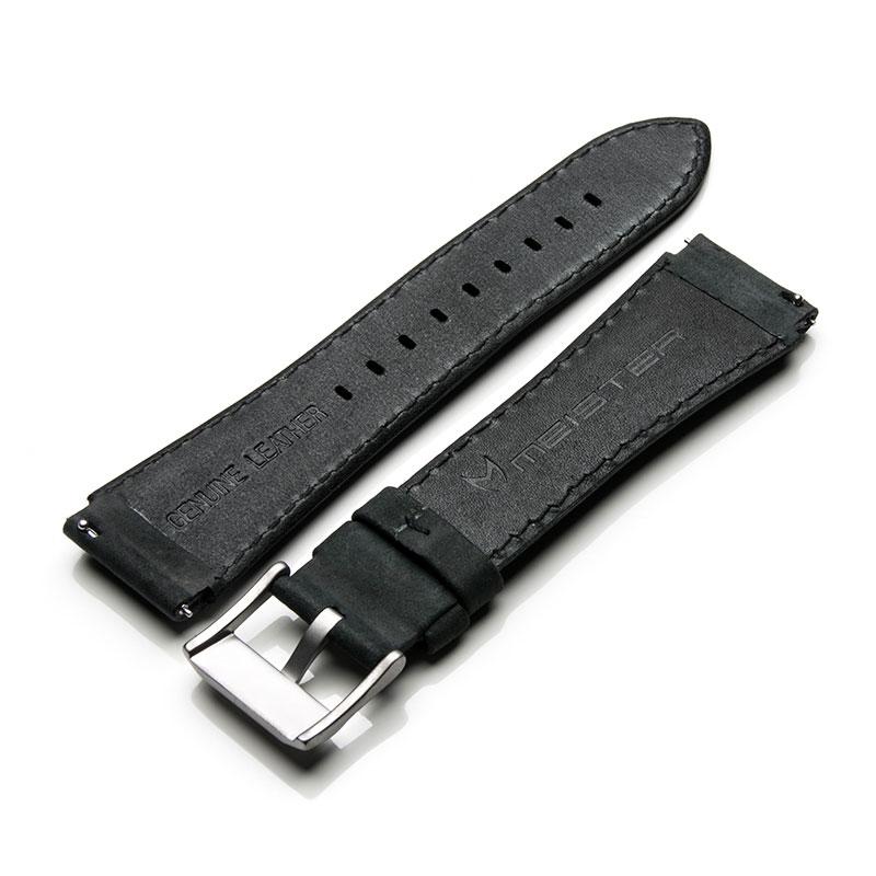 Natural - Black Leather