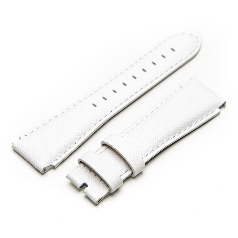 Saffiano – White Leather