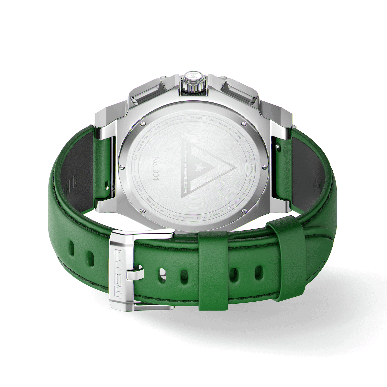 Zilver & Groen - Leer