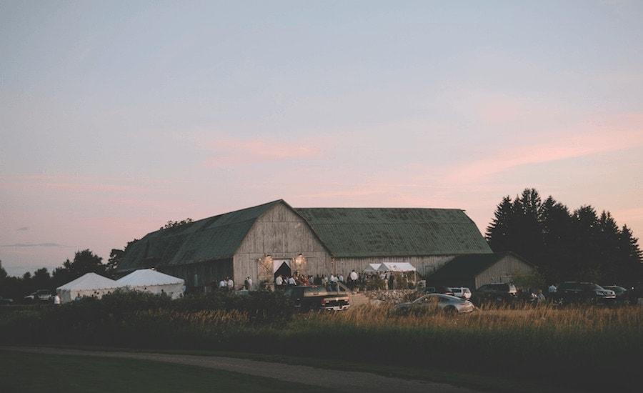 Charlevoix Country Club wedding