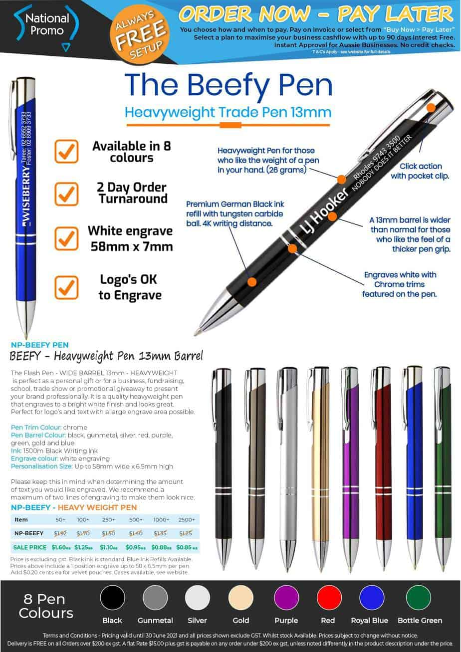 National Promo JUNE 2021 Financial Year Sale BEEFY Pens