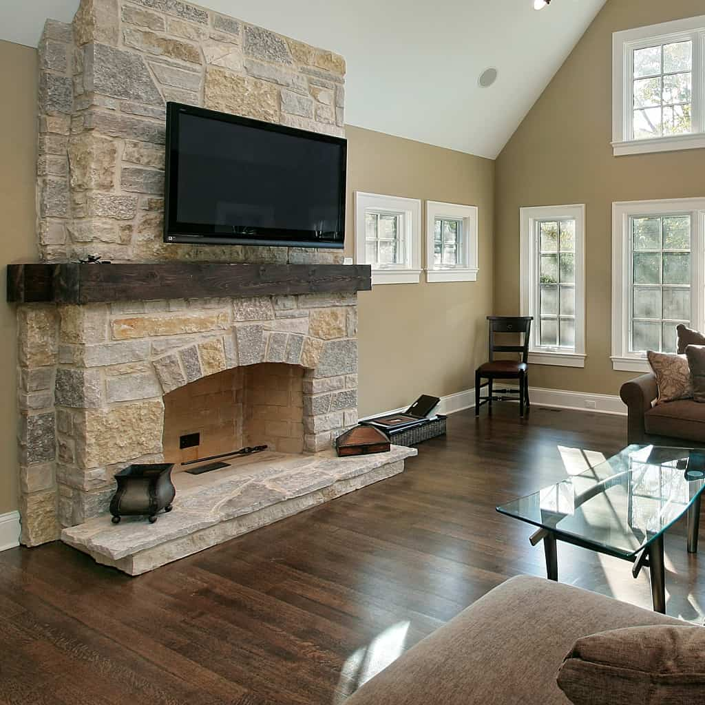 In Texas, every house comes with a fireplace. And they're in all sorts of shapes and sizes. Thinking about ours, I came up with these 8 Budget-Friendly Fireplace Remodel Ideas. #nerdymammablog #remodel #diy #home #fireplace #fireplaceremodel