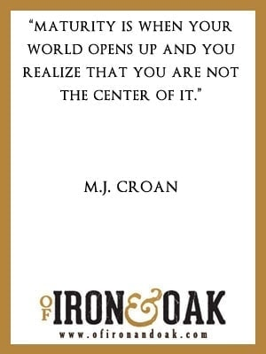 M.J.Croan Inspirational Quotes