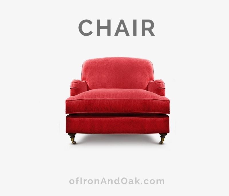 Kubrick Tight Back English Arm Chair