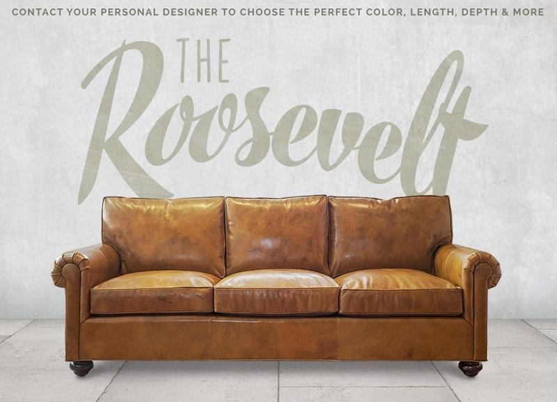 Roosevelt Roll Arm Lawson Sofa