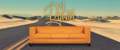 The Dylan: Custom Built American Made Mid-Century Sofa