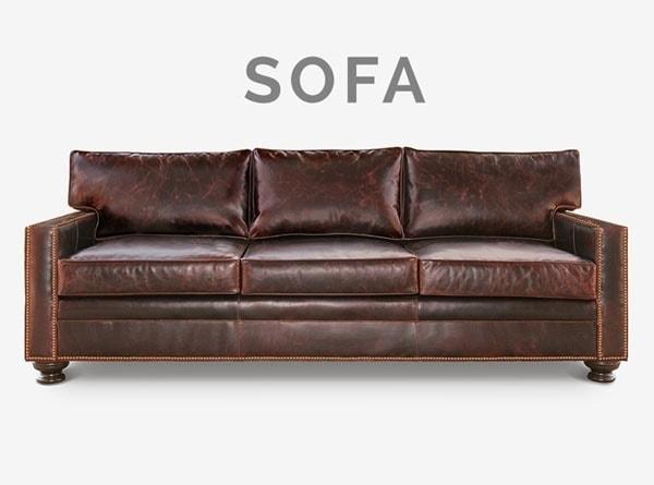 Heston Track Arm Sofa