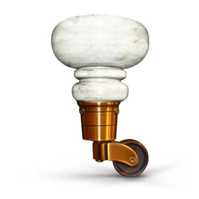 6.5 Inch Goblet Caster Sofa Leg