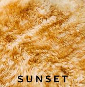 Sunset Austrailian Sheepskin