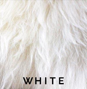 White Austrailian Sheepskin
