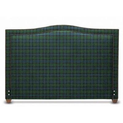 Glenview Scottish Plaid Flannel Headboard