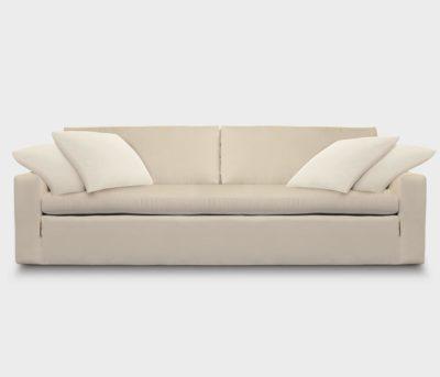 McCloud Extra Comfortable Modern Track Arm Sofa