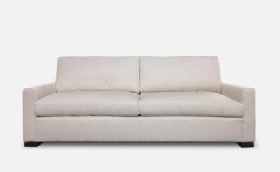 Petite Arm Version Of Our McQueen Sofa In Crypton Sky Salt