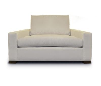 McQueen Armchair In Light Beige Fabric