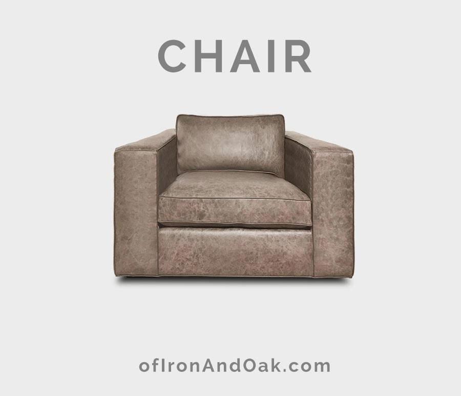 Hendrix Modern Leather Chair