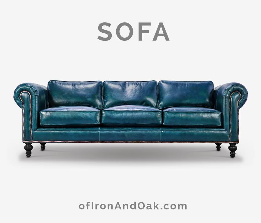 The Sidney: Modern Chesterfield Sofa